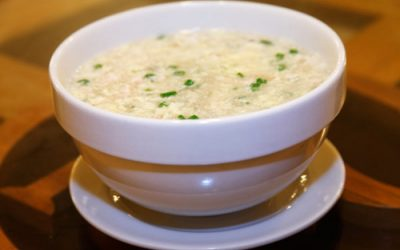 Sopa Fuchifu con Pollo